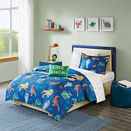 Mi Zone Kids Logan Comforter Set in Blue