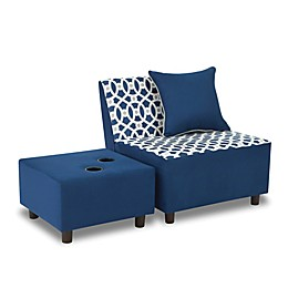 Kangaroo Trading Company Tween Chair Set in Navy
