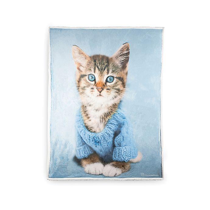 Alternate image 1 for Rachael Hale Stevie Reversible Throw Blanket in Grey