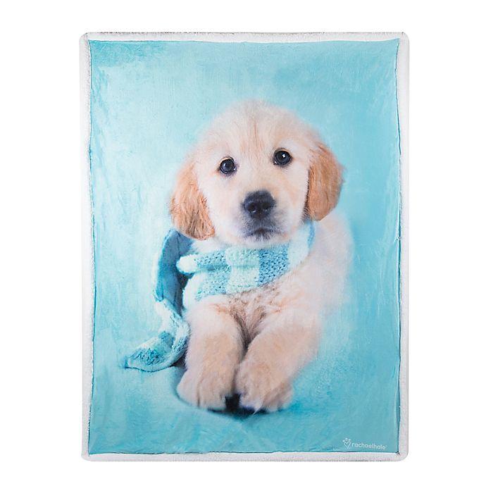 Alternate image 1 for Rachael Hale Jupiter Reversible Throw Blanket in Blue