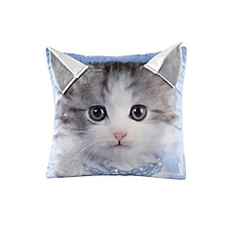 Rachael Hale® Animals Kitty Square Throw Pillow