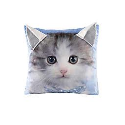 Rachael Hale® Animals Kitty Square Throw Pillow