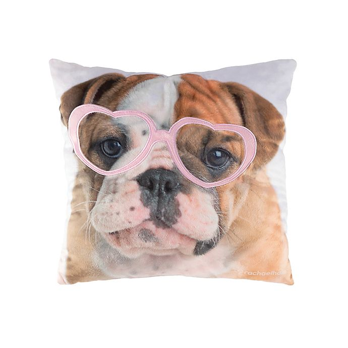 Alternate image 1 for Rachael Hale® Animals Lola Square Throw Pillow