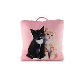 Rachael Hale® Animals Kuro & Sienna Square Floor Cushion Pillow