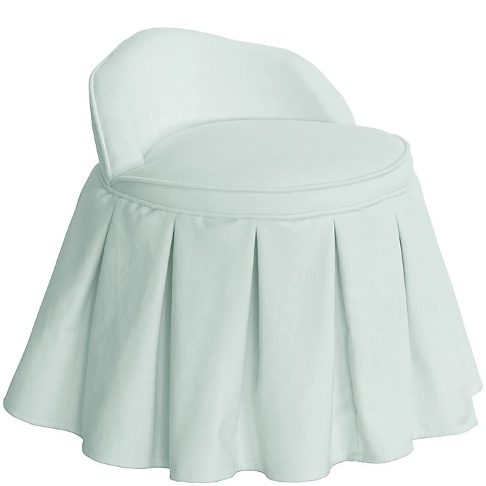 Alternate image 1 for Skyline Furniture Zoe Kids Vanity Chair in Blue