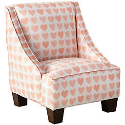 Skyline Furniture McLean Kids Chair in Pink