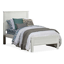 Hillsdale Furniture Highlands Alex Twin Panel Bed in White