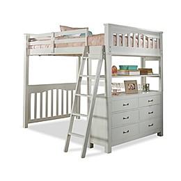 Hillsdale Highlands Full Loft Bed in White