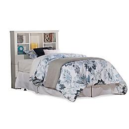 Hillsdale Furniture Cliffside Bookcase Headboard in White
