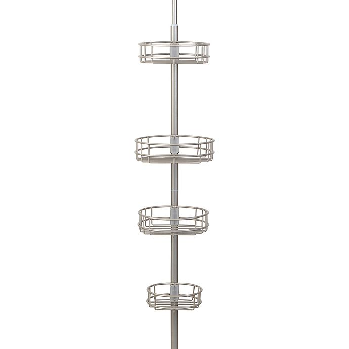 Alternate image 1 for Richards Homewares Tension Pole Shower Caddy