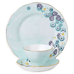 Royal Albert Alpha Foodie Tea Collection in Turquoise