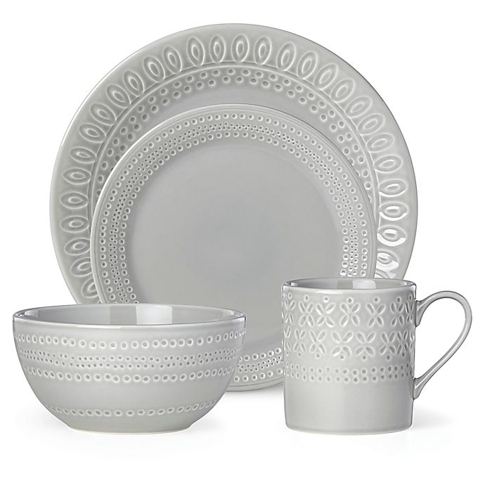 Alternate image 1 for kate spade new york Willow Drive Grey™ Dinnerware Collection