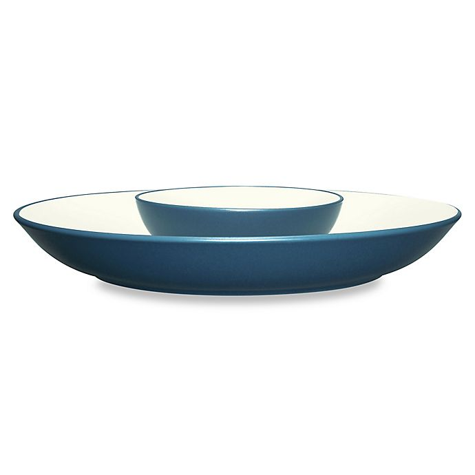 Alternate image 1 for Noritake® Colorwave Chip and Dip in Blue