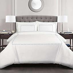 Lush Décor Hotel Geometric Duvet Cover Set