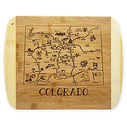 Totally Bamboo® Colorado Slice of Life Cutting Board