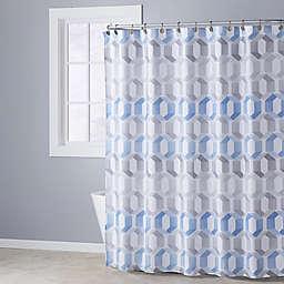 Metropolitan Shower Curtain in Blue