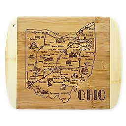 Totally Bamboo® Ohio Slice of Life Cutting Board