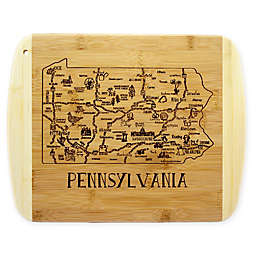 Totally Bamboo® Pennsylvania Slice of Life Cutting Board