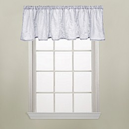 Wamsutta® Vintage Floral Embroidery Window Valance