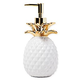 Saturday Knight Gilded Pineapple Lotion Dispenser