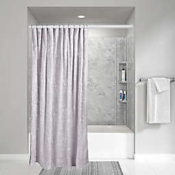 Wamsutta® Vintage Floral Embroidery 72-Inch x 72-Inch Shower Curtain in Grey