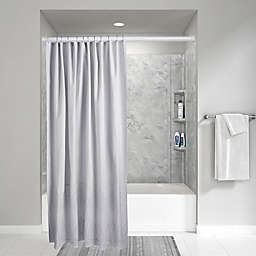 Wamsutta® Vintage 72-Inch x 72-Inch Eyelet Shower Curtain in Grey