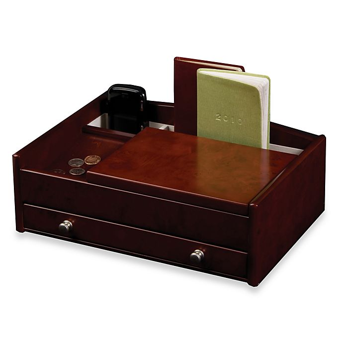 Alternate image 1 for Mele & Co. Davin Men's Dresser in Dark Burlwood Walnut