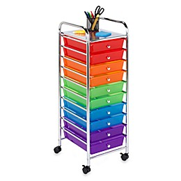 Honey-Can-Do® Steel 10-Drawer Rolling Storage Cart