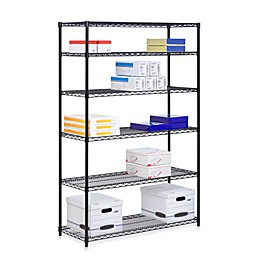 Honey-Can-Do® Brushed Steel 6-Tier Shelving Unit