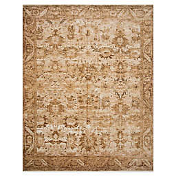 Magnolia Home By Joanna Gaines Kennedy 6'7 x 9'4 Area Rug in Sand/Copper