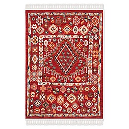 Safavieh Farmhouse Meadow Rug in Red