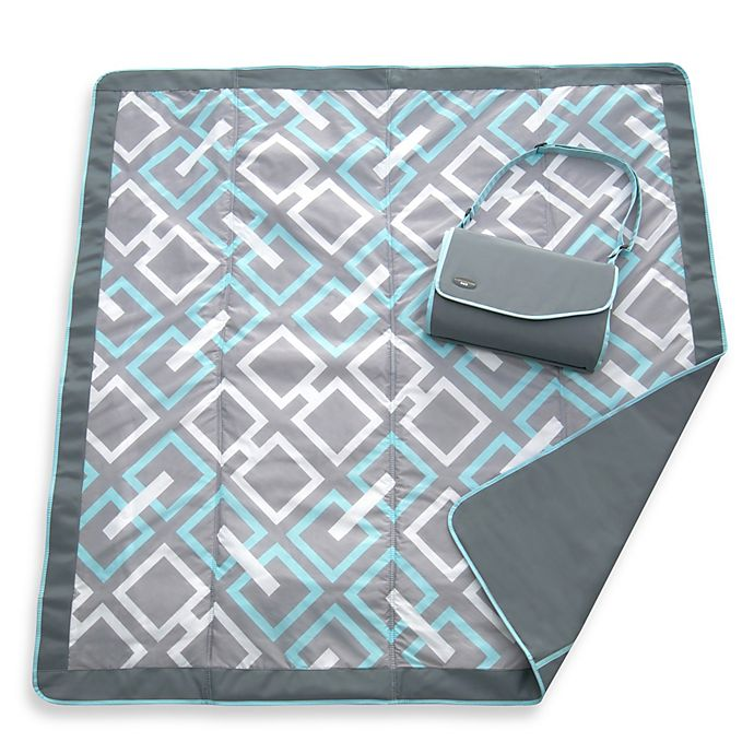 Alternate image 1 for JJ Cole® All-Purpose Outdoor Blanket in Grey Links