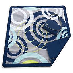 JJ Cole® 5-Foot X 5-Foot All-Purpose Outdoor Blanket in Blue Orbit