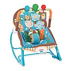 Fisher-Price® Blue Animals Infant to Toddler Rocker