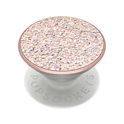 PopSockets® Sparkle Rose Premium Swappable PopGrip Phone Grip and Stand