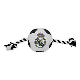 MLS Real Madrid Soccer Ball Pet Tug Toy