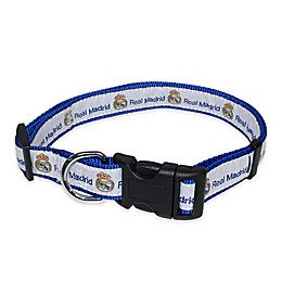 MLS Real Madrid Dog Collar in Blue/White