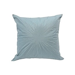 Canadian Living Hamilton Embroidered Square Throw Pillow in Sage