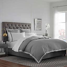 Martex® Hotel Ultra Soft Standard Pillow Sham in Khaki/White