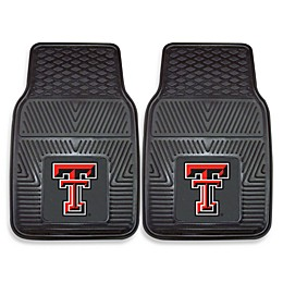 Texas Tech University Heavy Duty 2-Piece Vinyl Car Mat Set