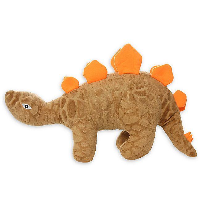 Alternate image 1 for Mighty Dinosaur Stegosaurus Dog Toy