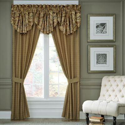 Croscill 174 Ashton 84 Inch Rod Pocket Window Curtain Panel