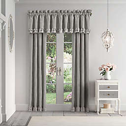 Piper & Wright Emily 2-Pack 84-Inch Rod Pocket Window Curtain in Alloy