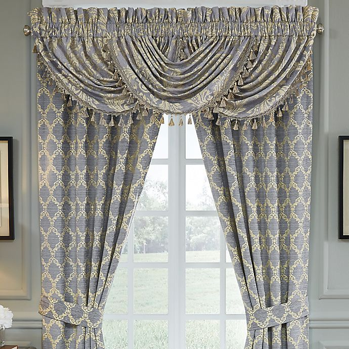 Croscill Nadia Waterfall Swag Valance