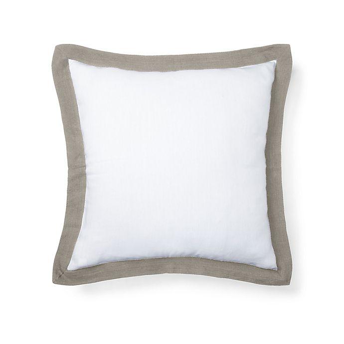 Lauren Ralph Flora European Pillow Sham In White
