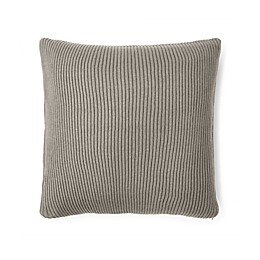 Lauren Ralph Lauren Flora Rib Knit Throw Pillow in Grey