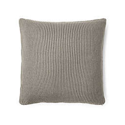 Lauren Ralph Lauren Flora Rib Knit Throw Pillow in Grey