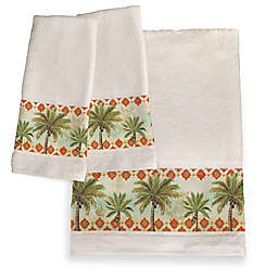 Laural Home® Spice Palm Bath Towel