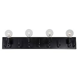 Varaluz® Socket-To-Me 4-Light Flush Mount Vanity Fixture