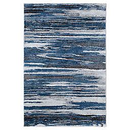 Stillwater 5'3 x 7' Area Rug in Blue/Multi